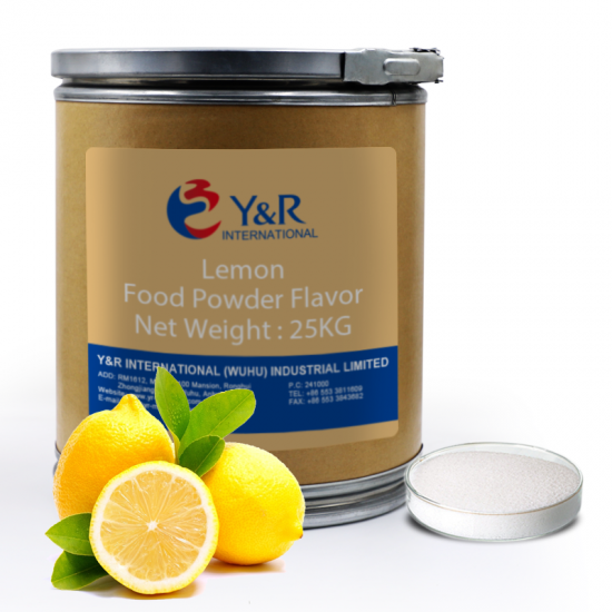 lemon powder food flavor